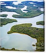 Ten Thousand Islands 12 Canvas Print