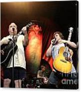 Tenacious D - Kyle Gas And Jack Black Canvas Print