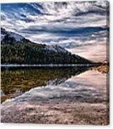 Tenaya Lake Reflections Canvas Print