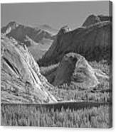 6m6552-bw-tenaya Lake Yosemite Bw  Canvas Print