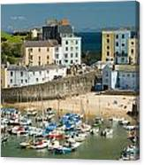 Tenby Harbour Canvas Print