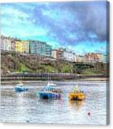 Tenby Harbour Wales Canvas Print