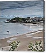 Tenby Panorama 3 Canvas Print