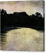 Tender Sundown Canvas Print