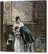 Tenement: Doctor, 1889 Canvas Print