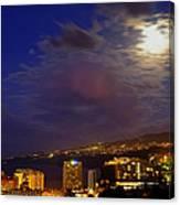 Tenerife's North West Coast  Canvas Print