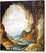 Teniers' Vista From A Grotto Canvas Print