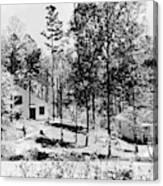 Tennessee Housing, C1935 Canvas Print