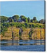 Tennessee River Cliffs Canvas Print