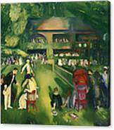 Tennis At Newport 1920 Canvas Print