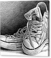 Tennis Shoes Canvas Print