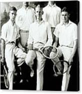 Tennis Team 1921 Canvas Print