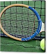 Tennis - Vintage Tennis Racquet Canvas Print