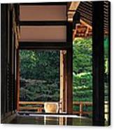 Tenryui-ji - Temple - Kyoto Canvas Print