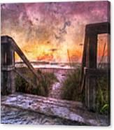 Tequilla Sunrise Canvas Print