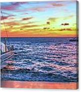 Teralani Sunset Canvas Print