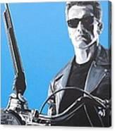 Terminator I'll Be Back Canvas Print