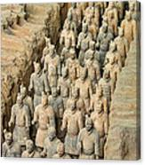Terra Cotta Warriors Canvas Print