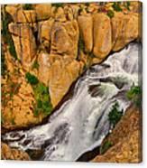 Terraced Falls Canvas Print
