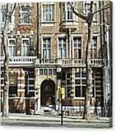 Terraced Houses In Kensington Canvas Print