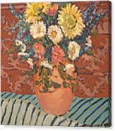 Terracota Vase Canvas Print