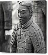 Terracotta Army Warriors In Xian China Canvas Print