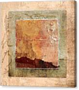 Terracotta Earth Tones Canvas Print