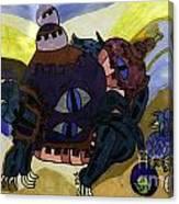Terrestrial Turtle Canvas Print