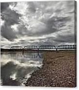 Terry Bridge Canvas Print