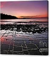 Tesselated Pavement Sunrise Canvas Print