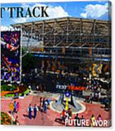 Test Track Opening 1999 Canvas Print