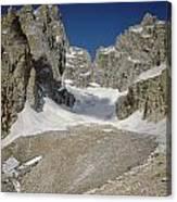 1m9385-teton Glacier Canvas Print