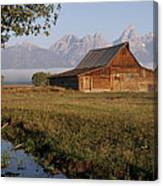 Teton Morning Magic Canvas Print