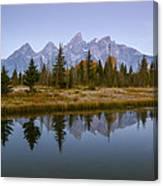 Teton Morning Canvas Print