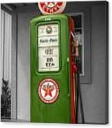 Texaco Gas Pump Canvas Print