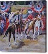Texan Rodeo Canvas Print