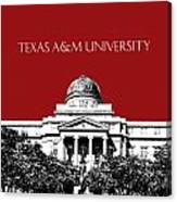 Texas A And M University - Dark Red Canvas Print