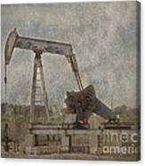 Texas Black Gold Canvas Print
