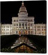 Texas Capital Building Canvas Print