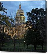 Texas Capitol Canvas Print