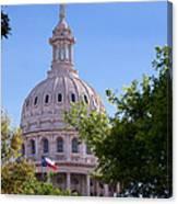 Texas Capital Dome Canvas Print