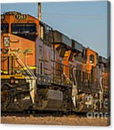 Texas Freight  Canvas Print