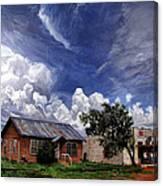 Texas Ghost Town Canvas Print