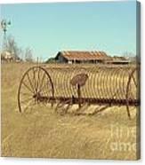 Texas Hill Country Farmscape Canvas Print