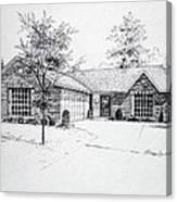 Texas Home 1 Canvas Print