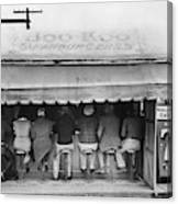 Texas Luncheonette, 1939 Canvas Print