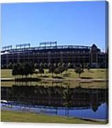 Texas Rangers Reflection Canvas Print