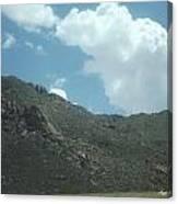 Texas Rock Mountian Canvas Print