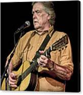 Texas Singer Songwriter Guy Clark Canvas Print