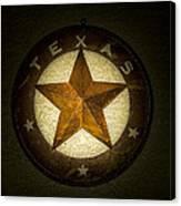 Texas Star Canvas Print